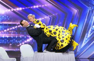 America's Got Talent creepy doll dance (Photo: NBC)