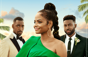 Christina Milian finds herself stuck in the world's most inane love triangle in Netflix's Resort to Love. (Photo: Netflix)