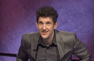 Jeopardy!'s 10-day winner Matt Amodio. (Photo: Jeopardy/Twitter)