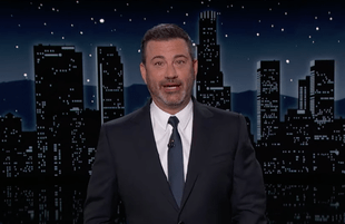 After three months without Trump monologues, Kimmel's had quite a lot to say this week. (Photo: ABC)