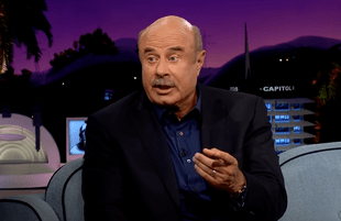 Dr. Phil on The Late Late Show with James Corden (Photo: CBS)