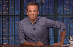 Seth Meyers pays tribute to Norm Macdonald on Late Night (Photo: NBC)