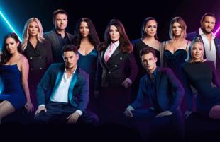 A pared-down cast delivers still brings the drama as Vanderpump Rules kicks off its ninth season. (Photo: Bravo)