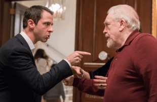 Jeremy Strong and Brian Cox in Succession (Photo: HBO).