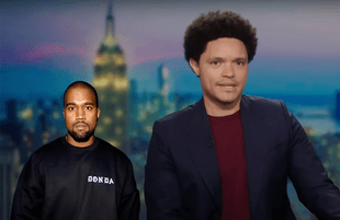 Trevor Noah discusses Kanye West on The Daily Show (Photo: Comedy Central)