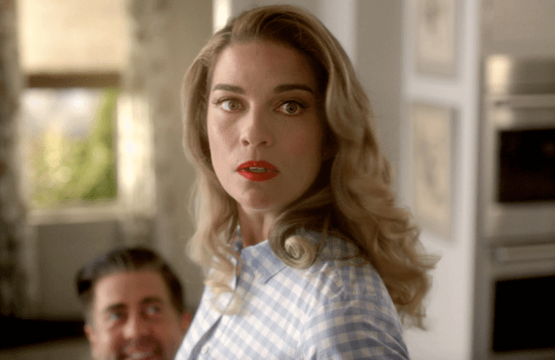 Annie Murphy stars in AMC's Kevin Can F**k Himself.