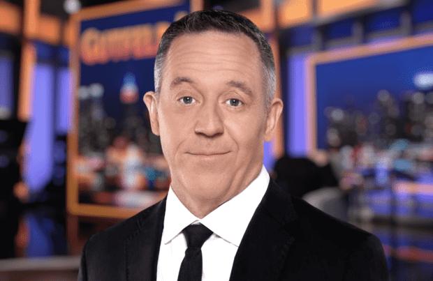 Greg Gutfeld on the set of his late-night Fox News show. (Photo: Fox News)