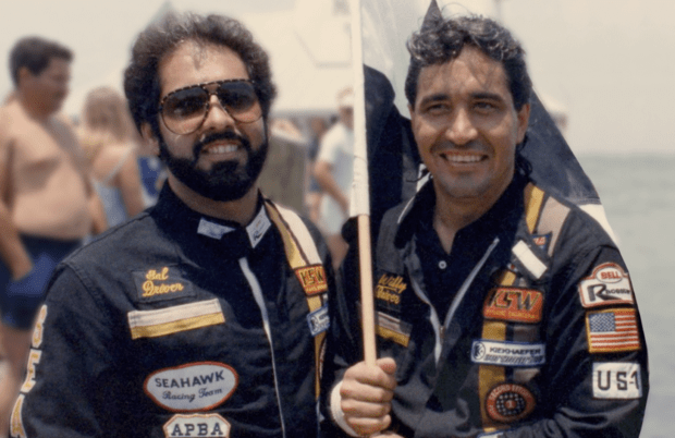 Sal Magluta and Willy Falcon are the titular Kings of Miami in Netflix's new six-part Cocaine Cowboys docuseries. (Netflix)
