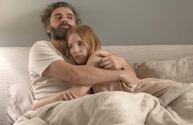 Oscar Isaac and Jessica Chastain in Scenes from a Marriage (Photo: Jojo Whilden/HBO)