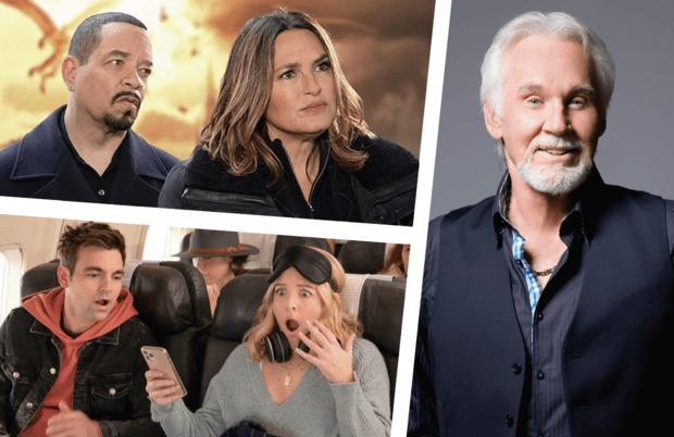 Photos: NBC, CBS, HBO Max